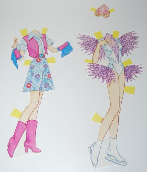 Paperdoll barbie 1990 4