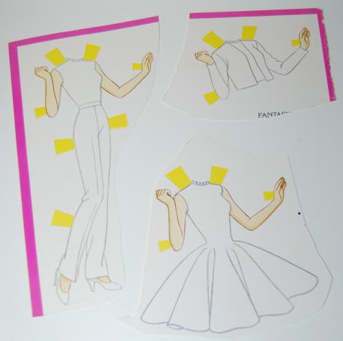 Paperdoll barbie 1990 7