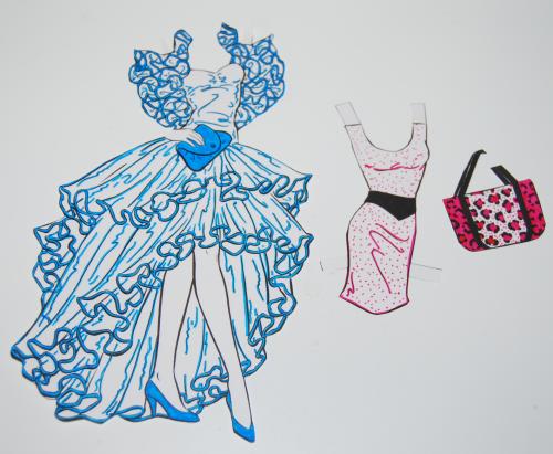 Barbie paperdoll 1990 4