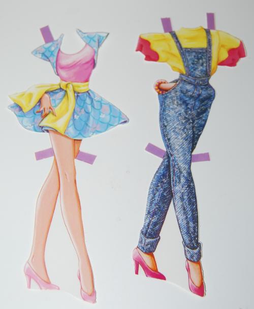 Barbie paperdoll 1990 6