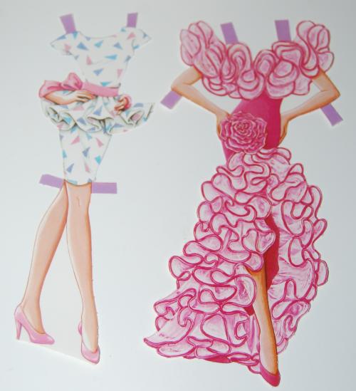 Barbie paperdoll 1990 7