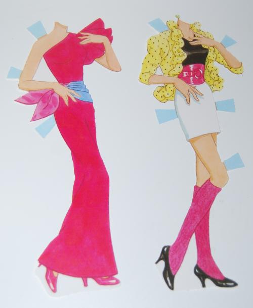 Barbie paperdoll 1990 2 (2)