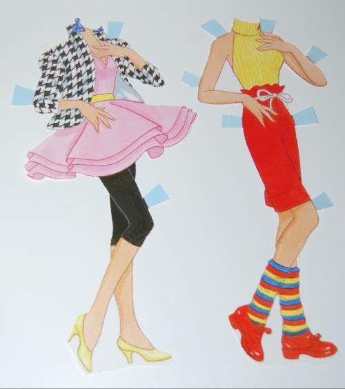 Barbie paperdoll 1990 5 (2)