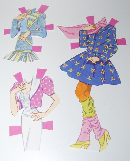 Paperdoll barbie 1991 8