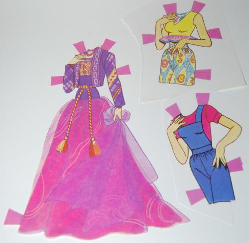 Paperdoll barbie 1991 13