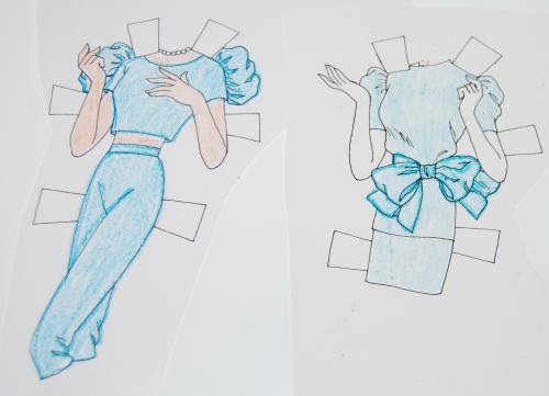 Paperdoll barbie 1991 18