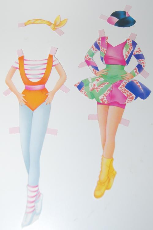 Barbie paperdolls 1992 13