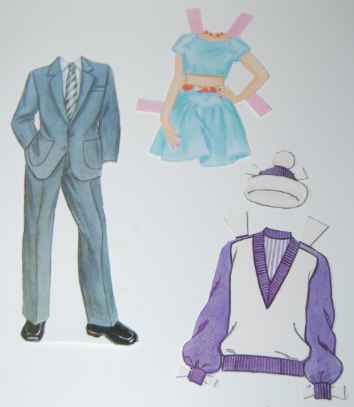 Bride & groom paperdolls 1991 14