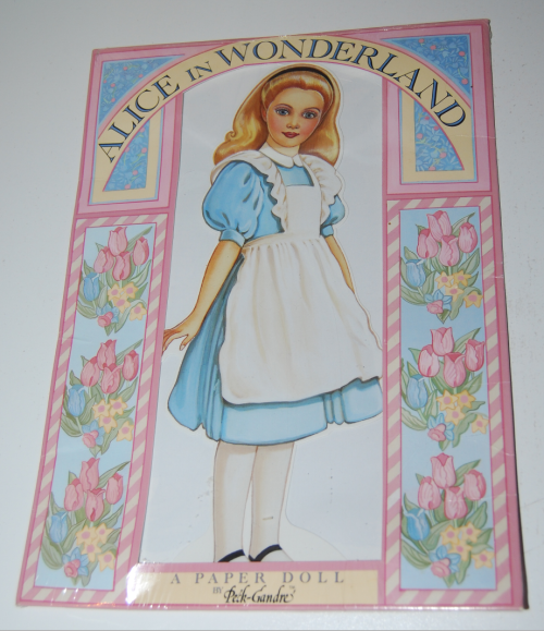 Alice in wonderland paperdoll by peck gandre