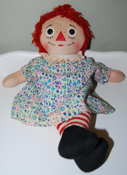 My raggedy ann doll