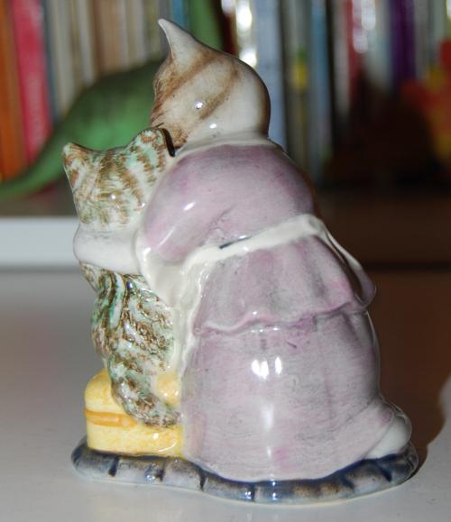 Beatrix potter ceramic tabitha twitchet x