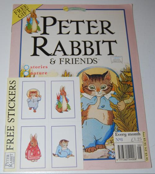 Peter rabbit & friends magazine
