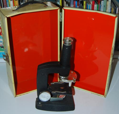 Vintage gilbert microscope x