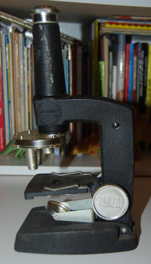 Vintage gilbert microscope 4