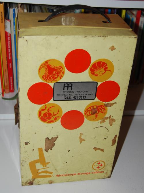 Vintage gilbert microscope
