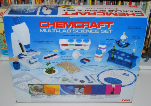 Tyco chemcraft multi lab science set x