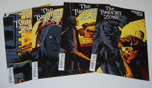 The twilight zone comic books