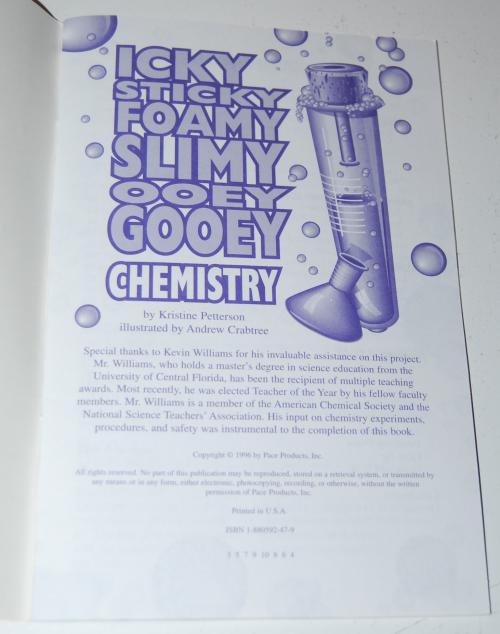25 yucky chemistry experiments set 4