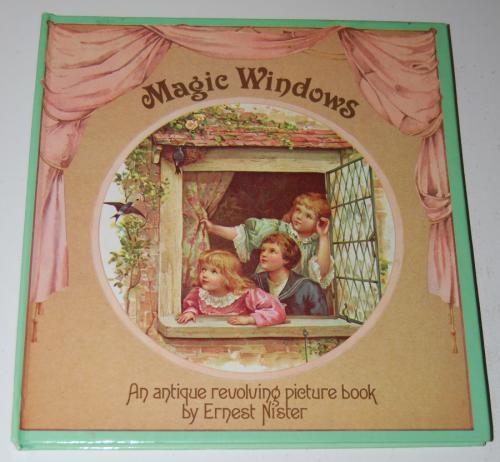 Magic windows revolving picture book
