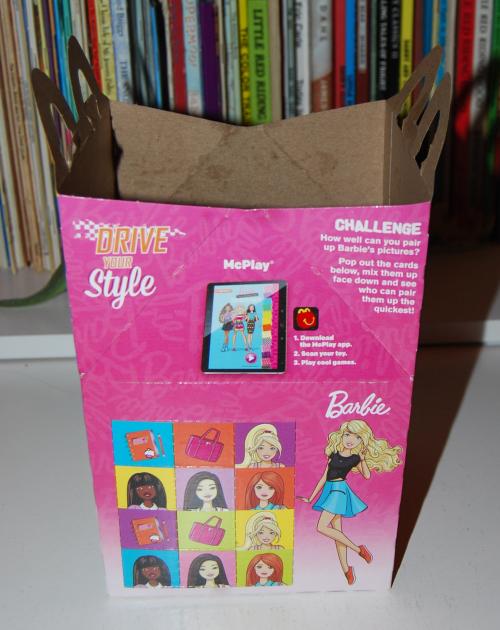 Barbie happy meal toy 2017 x