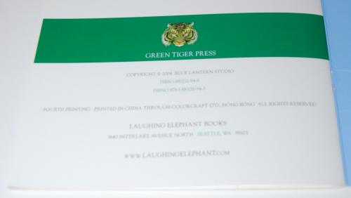 The three bears green tiger press 7