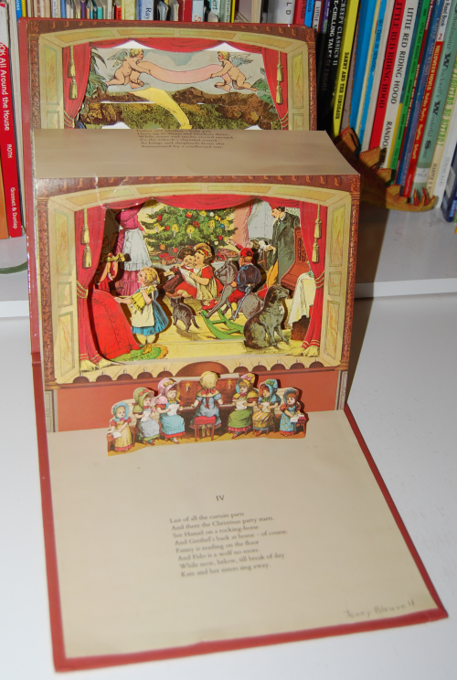 The childrens' theater antique pop up book 5