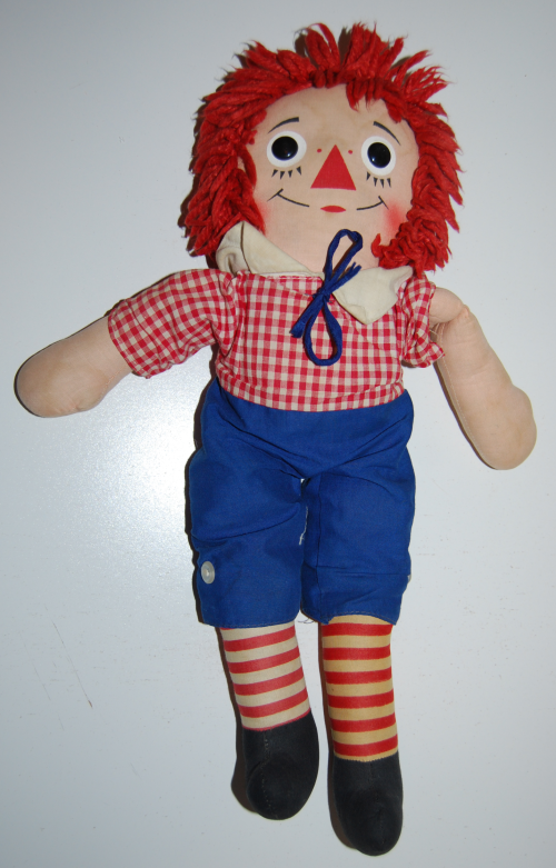 Vintage raggedy andy doll 2