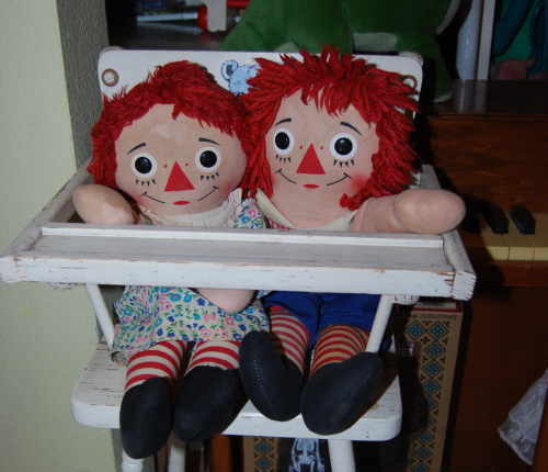 Vintage raggedy andy doll 6