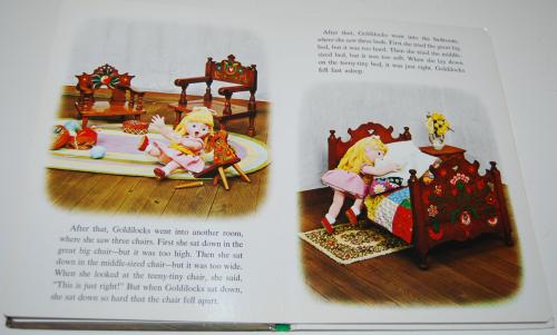 Goldilocks puppet storybook 4