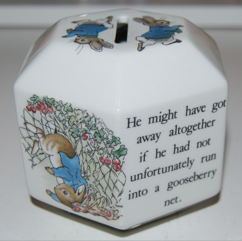 Beatrix potter ceramic 1