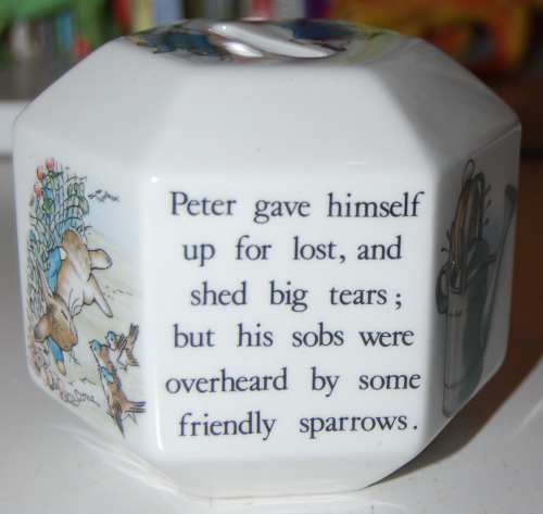 Beatrix potter ceramic 3