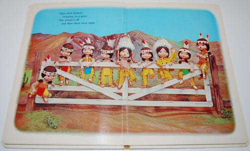 Ten little indians puppet storybook 3