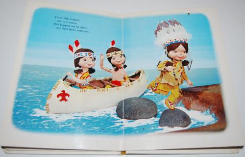 Ten little indians puppet storybook 7