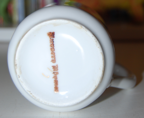 Ceramic humpty dumpty creamer 3