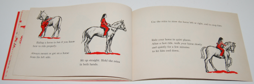 I can read about horses 7