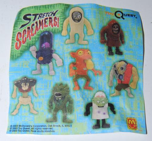 Mcd stretch screamers toys 1