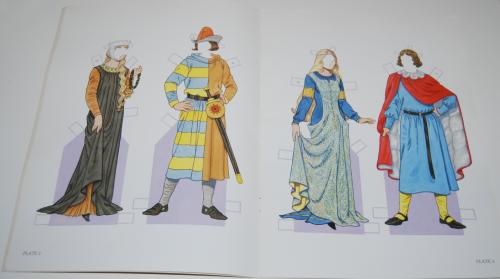 Medieval costumes paperdolls 2