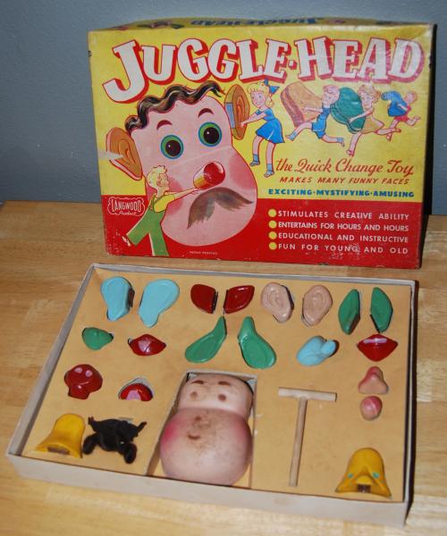 Jugglehead vintage toy x