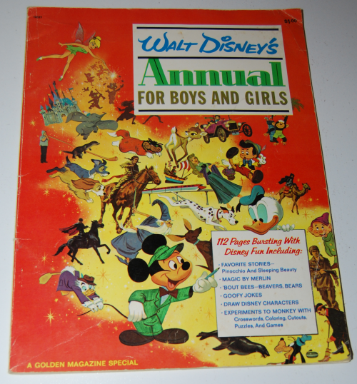 Walt disney's annual golden magazine special