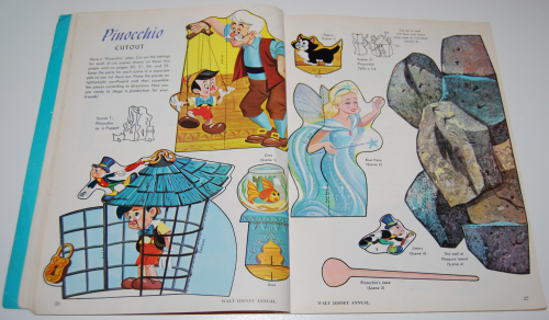 Walt disney's annual golden magazine special 4