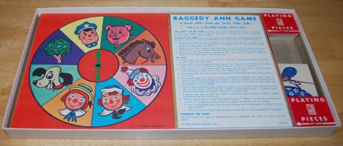 Milton bradley raggedy ann game 3