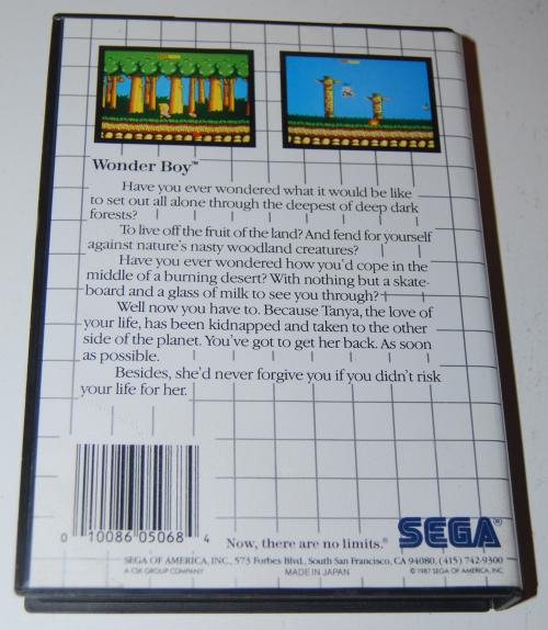 Vintage sega master system games 8