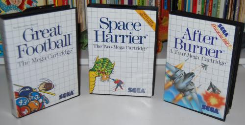 Vintage sega master system games 6