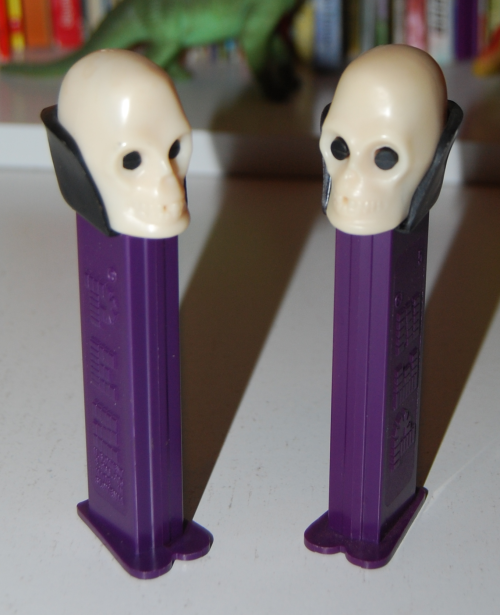 Skeleton pez dispensers