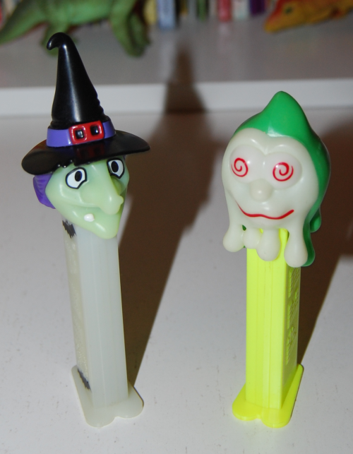 Creepy pez dispensers