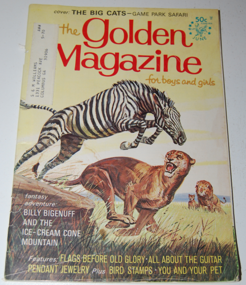 Golden magazine june 1968