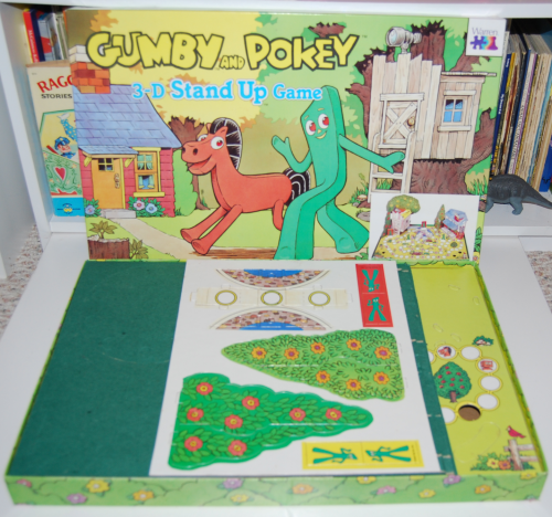Gumby & pokey 3d stand up game 2