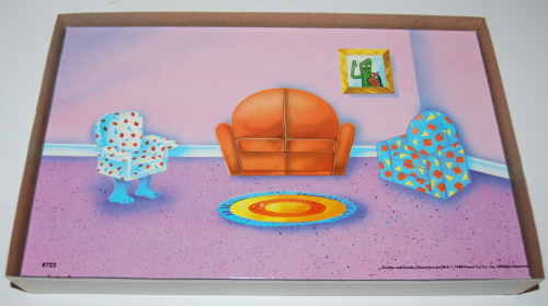 Gumby colorforms playset 2