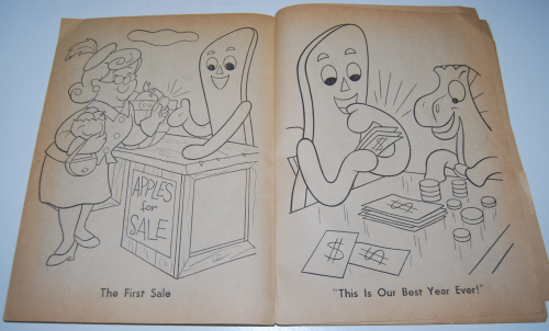 Gumby & pokey coloring book whitman 8