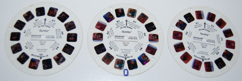 Gumby viewmaster reels